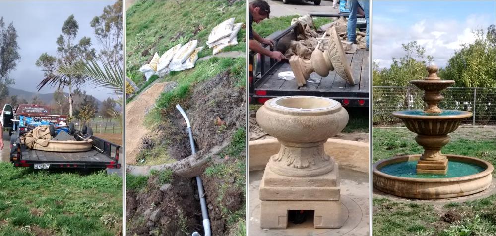 Ivan Fountain Services Custom Water Fountain